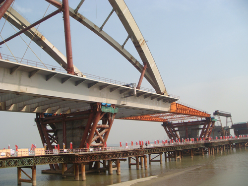 《桥梁》杂志社组织的《2010组合结构桥梁和顶推技术应用学术会议暨